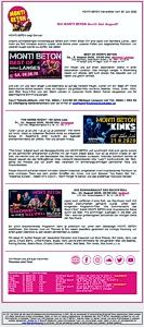 MONTIsE-Mail Newsletter